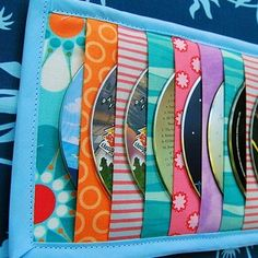 portacd - great use for left over Fabrics, could be Babyville PUL too #sewing