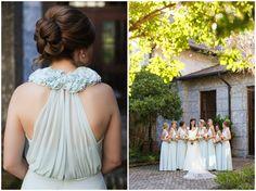 Tiffany Blue Bridesmaids Dresses, Floor length Tiffany Blue Bridesmaids Dresses www.annakphotography.com