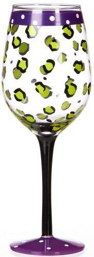 Florida Marketplace Leopard Print Goblet by Florida Marketplace. $10.19. Imported. Florida Marketplace adds a touch of coastal style to your home dining& entertaining. This 15 ounce glass goblet features a colorful hand painted leopard print design. A glass that is great for entertaining oreveryday use.