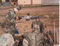 Recon machine gunner.
