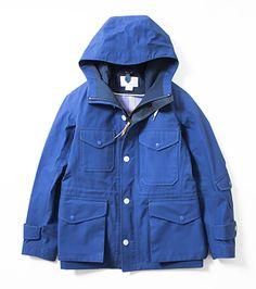 Nanamica GORE-TEX® Cruiser Jacket (Reef Blue)
