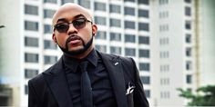 Banky W spotted at popular Lagos club with mystery ladies