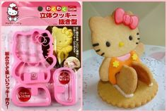 Adorable-Hello-Kitty-3D-Cookie-Cutter-Cute-Sandwich-Stamp-Stencil-Press-Mold-New
