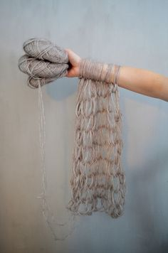 + ( arm knitting )