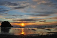My photo of Granity beach Westport, New Zealand