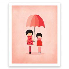 Umbrella II Art Print