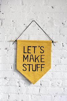 MY DIY | Hanging Wall Banner | I SPY DIY