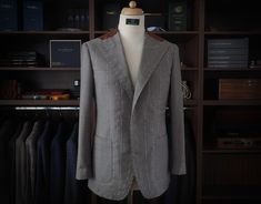 bespoke / second fitting   #bespoke #fullcanvas #handmade #bespoketailoring #menswear #sartorial #2ndfitting #secondfitting #mnswr #menwithclass #suits #design #ZAVATE Bespoke Tailoring, Ready To Wear, Suit Jacket, Menswear, Victoria, Costumes, Suits, How To Wear, Jackets