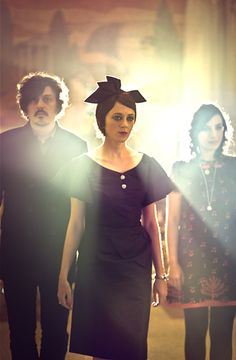 Ladytron. These guys are unique. Check them out people! Synth heaven.