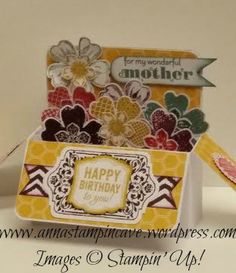 Birthday Card in a Box - rectangle shaped