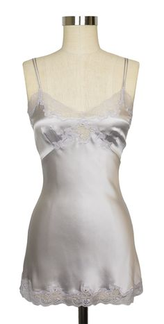 This vintage-inspired slip by Only Hearts is perfect for layering or for showing off a little lace underneath your top.