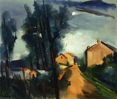 Maurice De Vlaminck Trees | Landscape