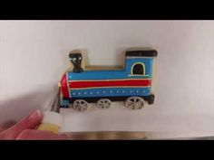 The Cookie Train is Coming - Time Lapse Cookie Video!