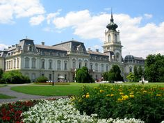 Festetics Palace, Keszthely, Hungary - Built starting in 1745 by Count Kristof Festetics