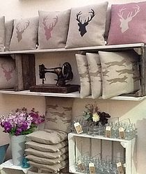 Nice neat and tidy arrangement in co-ordinated colours. Rustic Country Crafts