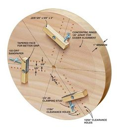 AW Extra 7/10/14 - Shop-Built 3-Jaw-Chuck - The Woodworker's Shop - American Woodworker