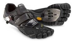 'Barefoot' Cycling Shoe Promises Natural Cycling Action Fivefingers - PentiCleat..,hmmmm might help with my toes going to sleep.