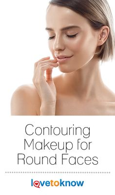 Contouring is a makeup technique that has recently taken the beauty world by storm. It involves using a mixture of dark and light shades on certain areas of the face to flatter and accentuate your features. If you have a round face shape, contouring can help to slim down your cheeks and create a more angular silhouette. #Makeup #Contouring #RoundFace | Contouring Makeup for Round Faces from #LoveToKnow