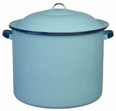Cinsa 312132 Authentic Hispanic Stock Pot with Lid, 34-Quart by Cinsa Kitchen. $59.14. Non-Porous Porcelain Finish is Antibacterial. Traditional Mexican colors. Even heat distribution. Solid steel construction with enamel coating. Quick and easy cleaning. Cinsa 34 Quart Stock Pot with Lid. Hispanic Cookware is the cornerstone of the Cinsa business. The leader in Hispanic cookware in Mexico, Cinsa has enjoyed the top market share for the past several years. If you are looking f...