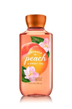 Georgia Peach & Sweet Tea Shower Gel - Signature Collection - Bath & Body Works