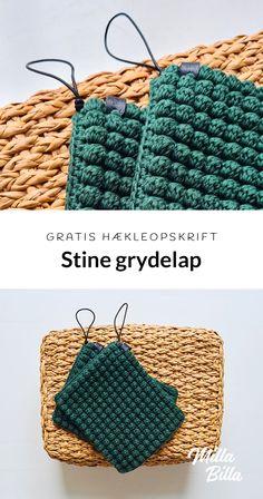 Tunisian Crochet, Crochet Stitches, Free Crochet, Knit Crochet, Crochet Books, Crochet Crafts, Crochet Projects, Crochet Coaster Pattern, Crochet Patterns