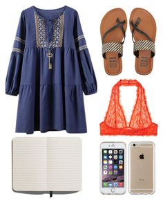 """Untitled #552"" by emily-milller ❤ liked on Polyvore featuring Intimately Free People, Billabong, Blu Bijoux, Shinola and Speck"