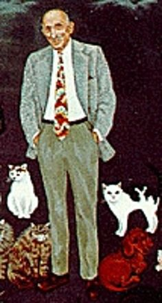Louis J. Camuti is most famous for being the first vet to specialize in only cats. He did this by making house calls to the homes of Manhatten . He still practiced medicine by the time of his death. Kittens, Cats, Health Center, Make New Friends, This Or That Questions, Cat Stuff, Medicine, Fur, Homes