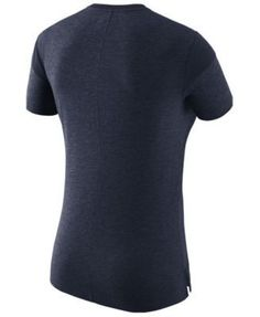 Nike Women's West Virginia Mountaineers Fan V Top T-Shirt - Blue XXL
