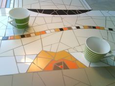 ManonLisa mosaïque - > Tables
