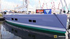 2017 Hanse 588 Sailing Yacht - Deck and Interior Walkaround - 2017 Annap...