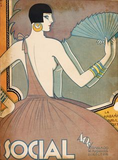 Social - Front cover: Abril, 1927