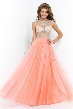 Blush Prom Dress 2015