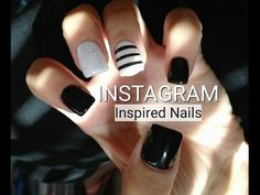 INSTAGRAM NAIL ART  Inspired Nail Designs | Black & White Color Theme | Minimalist Style Todays video Im going to show you how I achieved this Instagram black and white inspired nail designs.  Let me know if youve any questions.  Hope youll enjoy!  Please support my channel by subscribing.  It's free :D Much Love http://www.youtube.com/subscription_center?add_user=minimaliststyling@gmail.com --------------------------------  Related Videos    Memebox Acne Box Review…