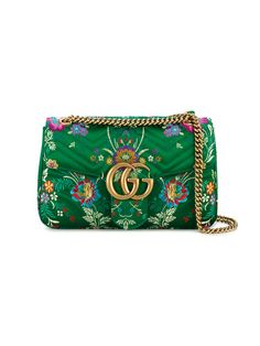 GUCCI . #gucci #bags #shoulder bags #leather #silk #