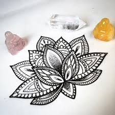 36 Mandala Lotus Tattoos Ideas - Coloring Page Ideas Henna Tatoos, Arm Tattoos, Body Art Tattoos, Trendy Tattoos, Love Tattoos, Beautiful Tattoos, Et Tattoo, Hand Tattoo, Piercings