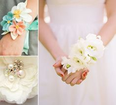 wedding bride wrist corsage | Mother of the Bride Corsages: It's all in the Wrist | My Daughter's ...