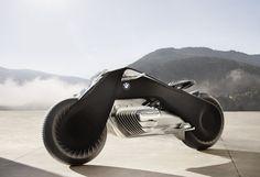 BMW Motorrad Vision Next 100 LA MOTO FUTURISTE DE BMW SE PILOTE SANS CASQUE
