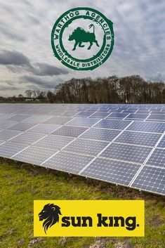 Solar energy has many benefits: - Reduces electricity bills and has low maintenance costs. - It is a renewable energy source than has diverse applications.  Let Sun King solar power brighten up your day! Solar Energy, Solar Power, Sun Power, Renewable Sources Of Energy, Electricity Bill, King, Day