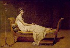 Portrait of Madame Récamier Jacques-Louis David Oil on canvas 1800