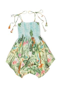 Alto Verão 33 Little Girl Fashion, Little Girl Dresses, Toddler Fashion, Kids Fashion, Girls Dresses, Kids Outfits, Cute Outfits, Sweet Dress, My Baby Girl