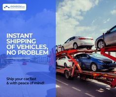 Our expedited car shipping mode will help you deliver your car by an exact date without any hassle. #ExpeditedCarShipping #InstantShipping #OnlineAutoDelivery #movecar #CarShippingCost #autotransportcarriers #autotransport #carshipping Move Car, Fast Cars, Vehicles, Car, Vehicle, Tools