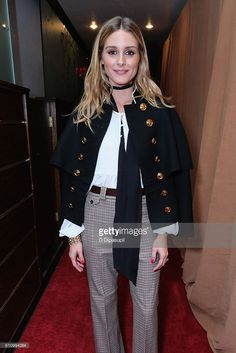 Olivia Palermo entering the Under the Influence panel at Liberty Theater during 2016 Advertising Week New York on September 28, 2016 in New York City.
