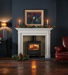 Wood Burning Stove Fireplace Fire Surround Log Burner Ideas – Home – fireplace Wood Burner Fireplace, Fireplace Hearth, Home Fireplace, Fireplace Remodel, Living Room With Fireplace, Fireplace Design, Fireplaces, Fireplace Ideas, Wood Fireplace Surrounds