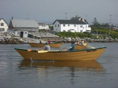 Try your hand at rowing a dory every Tuesday night on the Cape Sable Island Causeway, Shelburne County, Nova Scotia.all summer long! This is not like paddling a canoe, folks. these dories are big and heavy! Shelburne Nova Scotia, East Coast Travel, Great Places, Amazing Places, Atlantic Canada, Cape Breton, Prince Edward Island, New Brunswick, Fishing Villages