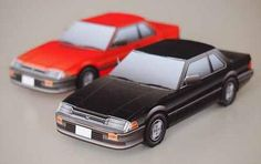 1978`s Honda Prelude Paper Model - by Ginrei Mokei    ==                 The Real Thing  The Honda Prelude is a sports coupé that was produced by Japanese automaker Honda from 1978 until 2001. The two-door coupé spanned five generations and was originally developed using parts from the Honda Accord sedan.