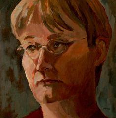 Acryl auf Leinwand - Porträt - v. skonea