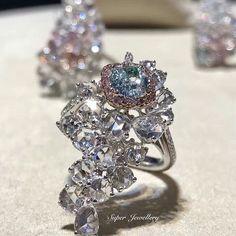 @sammi666_superjewellery. #highjewellery#luxuryjewelry #diamondjewelry#Diamond #pinkdiamond
