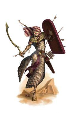 Mummified Akhumen by BryanSyme on DeviantArt