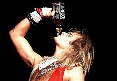 Looks like the key ingredient If you want to party like a rockstar is a bottle of Jack Daniels Whiskey. Music Love, Music Is Life, Rock Music, 80s Rock Bands, Cool Bands, Rock N Roll, Rock Watch, Bon Scott, David Lee Roth