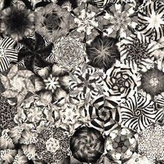 Metro by bruceseeds on Etsy, $3300.00  I love the combinations of black and white.